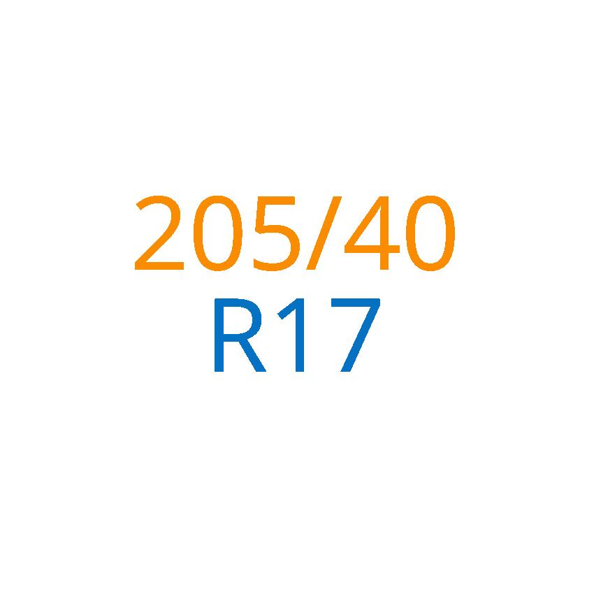 205/40 R17