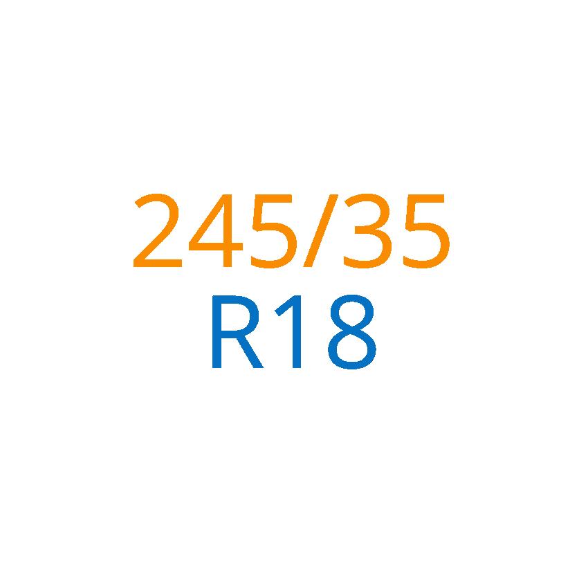 245/35 R18