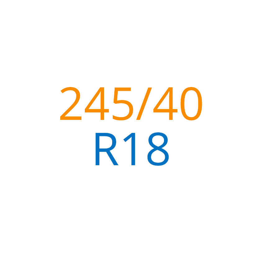 245/40 R18