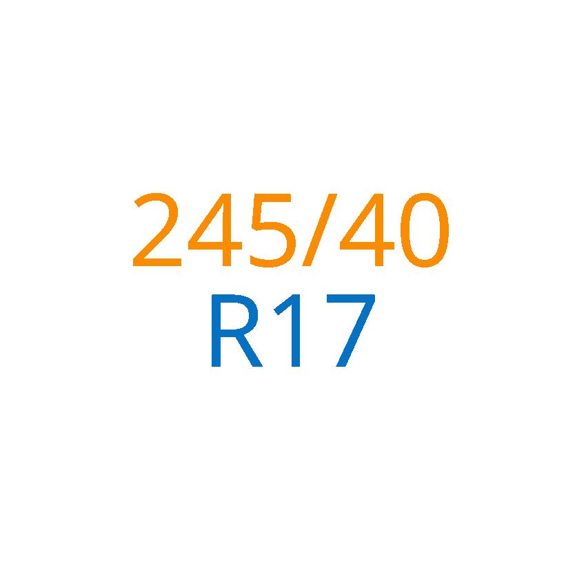 245/40 R17